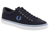 FRED PERRY FRED PERRY UNDERSPIN PIQUE<br>Bleu
