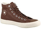 CONVERSE CONVERSE BOOT PC TUMBLED LEATHER<br>Marron