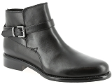 WE DO 77579L<br>Cuir NOIR - Cuir Caoutchouc Gomme