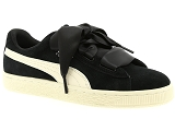 PUMA FRANCE SAS PUMA  JR SUEDE HEART<br>Noir