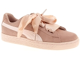 PUMA FRANCE SAS PUMA  JR SUEDE HEART<br>Rose