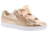 PUMA FRANCE SAS PUMA  JR BASKET HEART<br>Or
