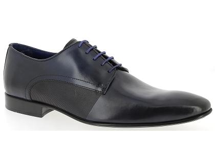 les chaussures a lacets azzaro nabou bleu chaussures homme livraison gratuite chez. Black Bedroom Furniture Sets. Home Design Ideas