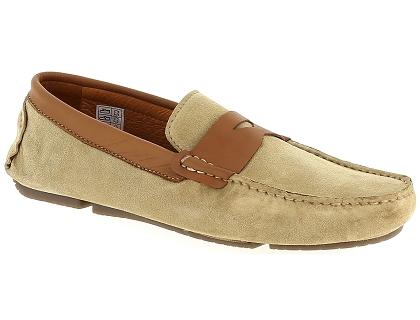 Toledano 80000 gris - Livraison Gratuite avec - Chaussures Mocassins Homme