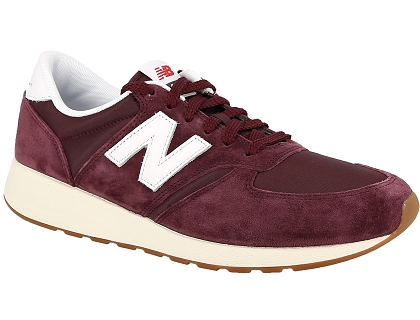 baskets basses new balance mrl420 rouge