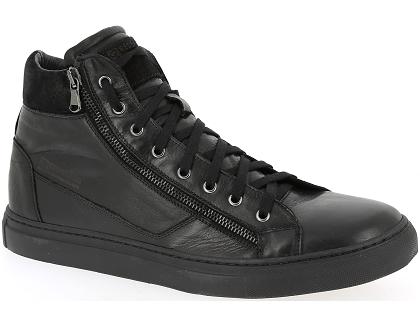 Les Bottines Rouge Chaussures Et Skins Nerino Boots Noir tCsQrdhx