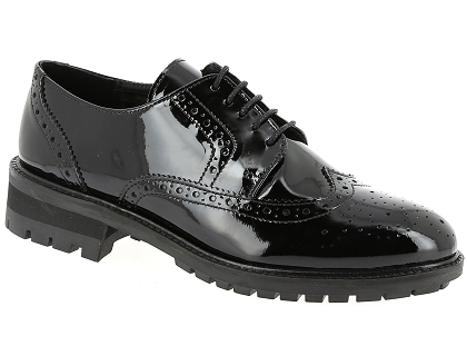 chaussures a lacets we do 22020 noir