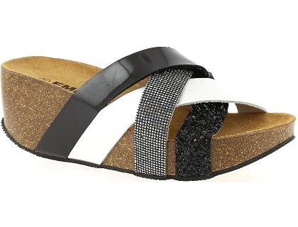 Emma 8540 Noir - Chaussures Mules Femme