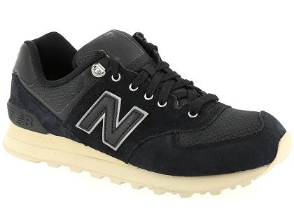 new balance ml574 cuir noir