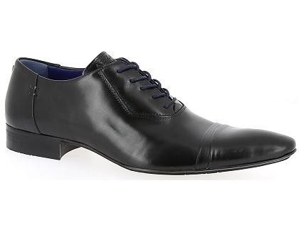 les chaussures a lacets azzaro adamo noir chaussures homme livraison gratuite chez. Black Bedroom Furniture Sets. Home Design Ideas