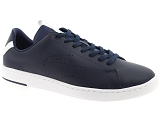 AZZARO OUTINO LACOSTE CARNABY EVO:Cuir/MARINE/BLANC/-//