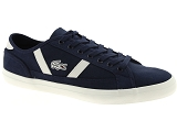 LACOSTE CARNABY EVO LACOSTE SIDELINE:Cuir/MARINE/-//