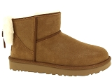 UGG DECKERS UGG CLASSIC MINI BOW<br>Marron