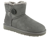 boots et bottines ugg mini bailey button ii gris6830703_1