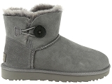 boots et bottines ugg mini bailey button ii gris6830703_2