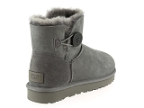 boots et bottines ugg mini bailey button ii gris6830703_3