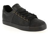 LACOSTE CARNABY EVO PALLADIUM KATE:Cuir/NOIR/-/Cuir/Caoutchouc Gomme