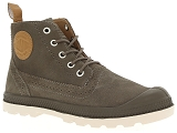 FLECS T585 PALLADIUM LONDON LP MID W:Cuir/GRIS/-//