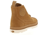 chaussures a lacets palladium london lp mid w marron6996202_3