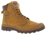 TIMBERLAND KENNISTON 6IN PALLADIUM PAMPA SPORT WPS:Cuir/MARRON/-//