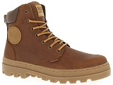 TIMBERLAND CROSS MARK PT CHUKKA PALLADIUM PL BOSS SC WP M:Cuir/MARRON/-//