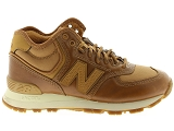 baskets montantes new balance wh574 marron7001701_2