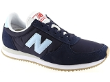 UGG NEW BALANCE WL220:Cuir/MARINE/-/Textile/Caoutchouc Gomme
