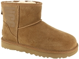 UGG DECKERS UGG CLASSIC RUBBER LOGO<br>Marron