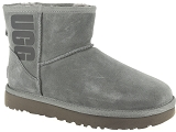 UGG DECKERS UGG CLASSIC RUBBER LOGO<br>Gris