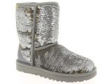 UGG DECKERS UGG CLASSIC SHORT COSMOS<br>Argent
