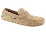 TOMMY HILFIGER TOMMY HILFIGER CLASSIC PENNY SUEDE<br>Vert