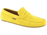 TOMMY HILFIGER TOMMY HILFIGER CLASSIC PENNY SUEDE<br>Jaune