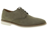 CLARKS FOXWELL MID CLARKS ATTICUS LACE:Cuir/GRIS/-/Cuir/Caoutchouc Gomme