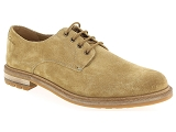 KOST ERWIN 5 CLARKS FOXWELL HALL:Cuir/TAUPE/-/Cuir/Caoutchouc Gomme