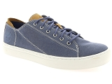 BARLEYCORN 781 TIMBERLAND ADV 2.0 CUP OXFORD:Cuir & Textile/BLEU/-/Textile/Caoutchouc Gomme