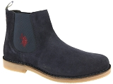 US POLO US POLO FAUST 7 SUEDE<br>Bleu