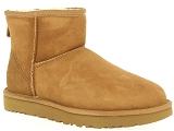 DATE HILL LOW ARGEGNO UGG CLASSIC MINI:Nubuk/NOISETTE/-/Fourrée/