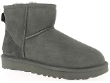 FRED PERRY 5184 UGG CLASSIC MINI:Nubuk/GRIS/-/Fourrée/