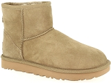 TIMBERLAND AMHERST HIGH TOP CHUKKA WHEAT UGG CLASSIC MINI:Nubuk/KAKI/-/Fourrée/
