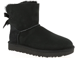 NEW BALANCE U420 UGG MINI BAILEY BOW II:Nubuk/NOIR/-/Fourrée/