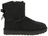 boots et bottines ugg mini bailey bow ii noir9077301_2