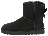 boots et bottines ugg mini bailey bow ii noir9077301_4