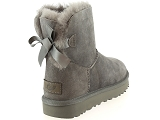 boots et bottines ugg mini bailey bow ii gris9077303_3