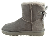 boots et bottines ugg mini bailey bow ii gris9077303_4