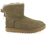 boots et bottines ugg mini bailey bow ii vert9077305_2