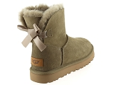 boots et bottines ugg mini bailey bow ii vert9077305_3