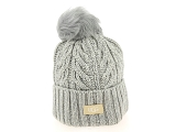 UGG DECKERS UGG CABLE POM BEANIE<br>Gris