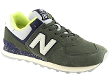 PATAUGAS AUTHENTIQUE NEW BALANCE ML574:Nubuk/VERT/-//