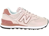 baskets basses new balance wl574 rose9081205_2