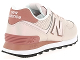 baskets basses new balance wl574 rose9081205_3